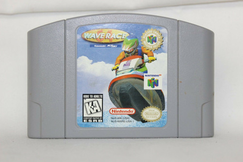 Pre Owned Wave Race 64 Nintendo 64 N64 Game Cartridge Only Untested