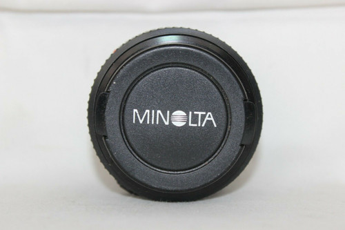 Pre Owned Minolta Lens MD 50mm 1:1.7 Japan 49mm with Caps