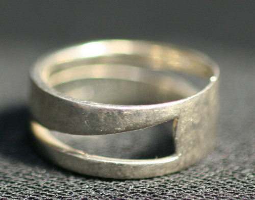 Pre-Owned Sterling Silver Ring 925 - No Stone - Thailand Size 7