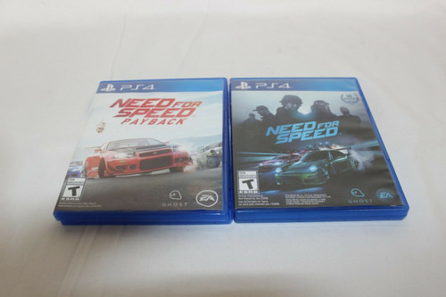 Pre Owned Need for Speed & Need For Speed Payback Sony PlayStation 4