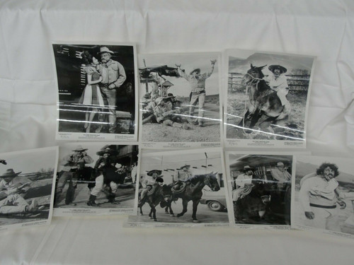 Vintage Scandalous John 1971 8 Original Walt Disney Still Photos Brian Keith