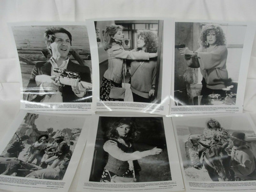 1988 6 Press Photos Shelley Long, Bette Midler, Carlin in Outrageous Fortune