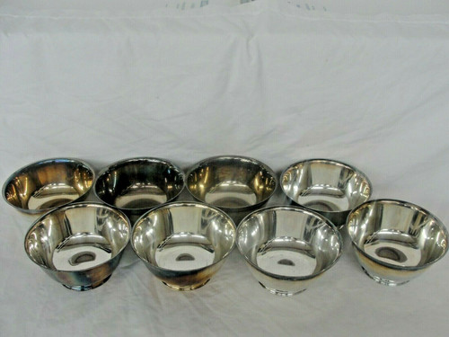 """8 Sons Of Liberty Bowl by Paul Revere - Reproduction By Oneida - 3"""""""