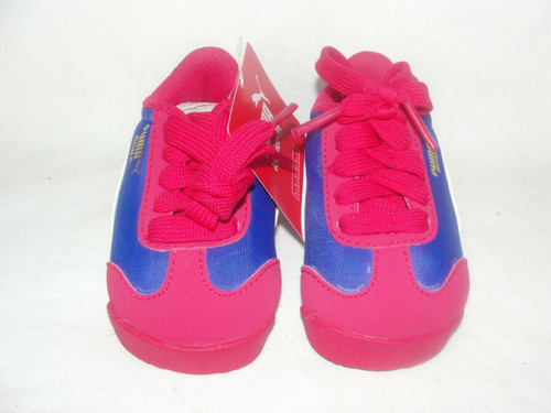 Puma Roma Basic Summer Rose Red Kids Shoe Size 4C New In Box