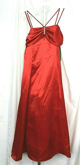 NWT Women's Sophia Young Designs Limited Red Formal Gown Sz. 16