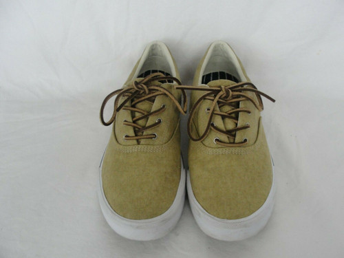 Pre Owned Sperry Top-Sider Canvas Boat Sneakers Mens Size 9
