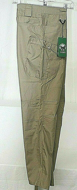 NWT Men's Live The Outsideca Tactical Cargo Pants In Khaki Sz. L.