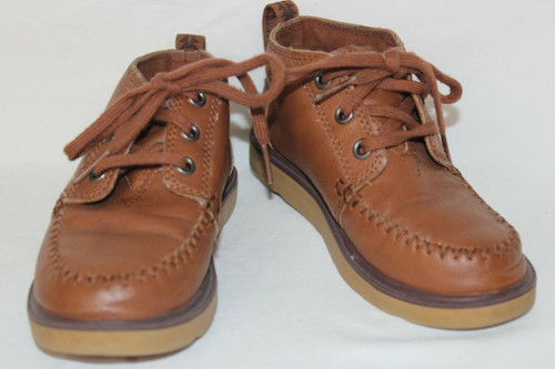 TOMS Kids Baby Boys Chukka Boots Infant/Toddler 12Y Brown EUC
