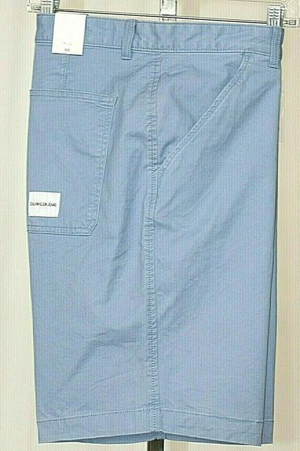 NWT Calvin Klein Jeans Men's Basic Shorts In Country Blue Sz. 38