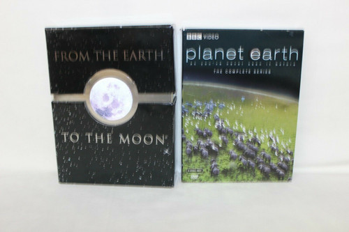 From the Earth to the Moon Complete TV Series & Planet Earth Complete Series.