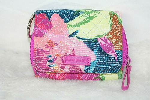 NWOT Vera Bradley Iconic RFID Card Case Small ID Wallet in Superbloom