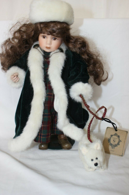 Boyds Collection Sonya Frosty Polar Bear # 4112 Yesterday's Child Porcelain Doll