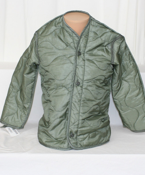 NWT Men's Military Issue Cold Weather Coat Liner Sz. XS