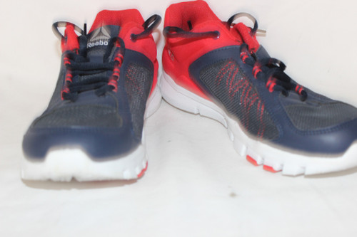 Preowned Reebok FloatRide Energy Red Blue Running Shoes Size 5.5