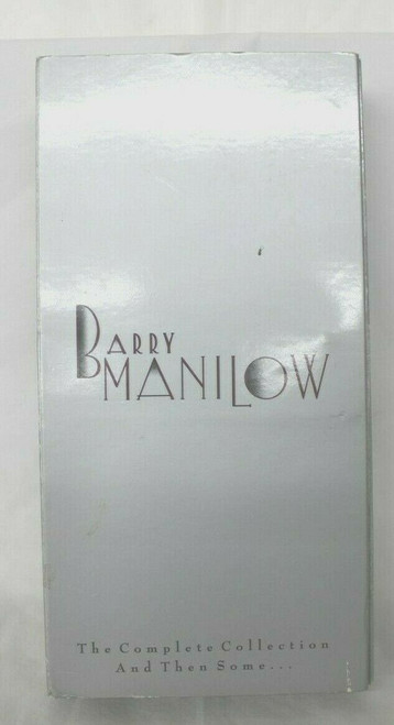 Barry Manilow The Complete Collection and Then Some... 4 Cd/VHS/Booklet