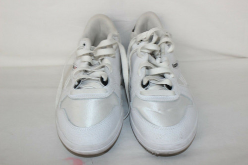 Reebok CN7047 Mens White Leather Lace Up Low Top Sneakers Shoes 9.5