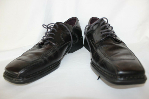 Rockport oxford Leather APM2633E brown / burgundy Size 8.5 M