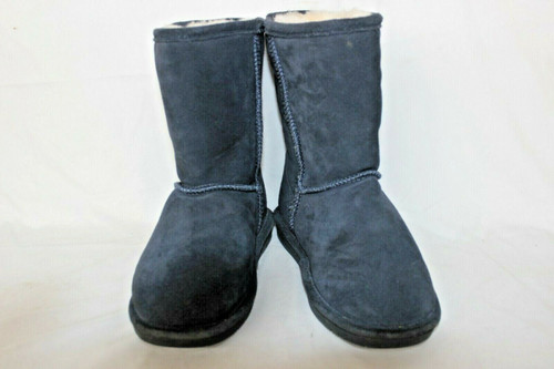 Bear Paw Blue Boots - Size 6