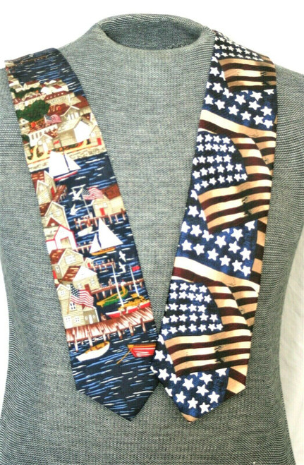 NWT Tango by Max Raab Silk Ties  Lot Of 2 From The  Americana Series