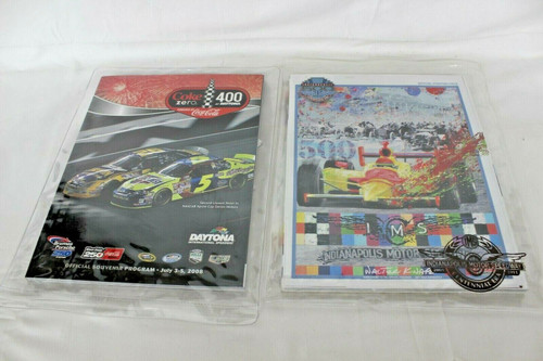 62010 Indianapolis 500 Official Program W/Starting Field & 2008 Official Program