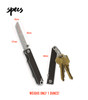 Pocket Samurai Keychain Knife (Aluminum Edition)