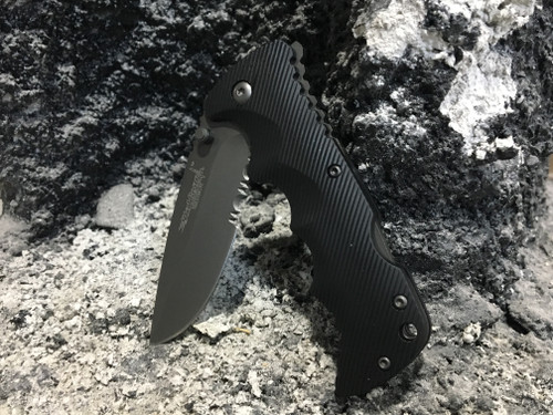 WolfTac Folding Knife - Black