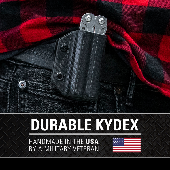 Kydex Sheath for the Leatherman Wingman/Sidekick/Rebar/Rev