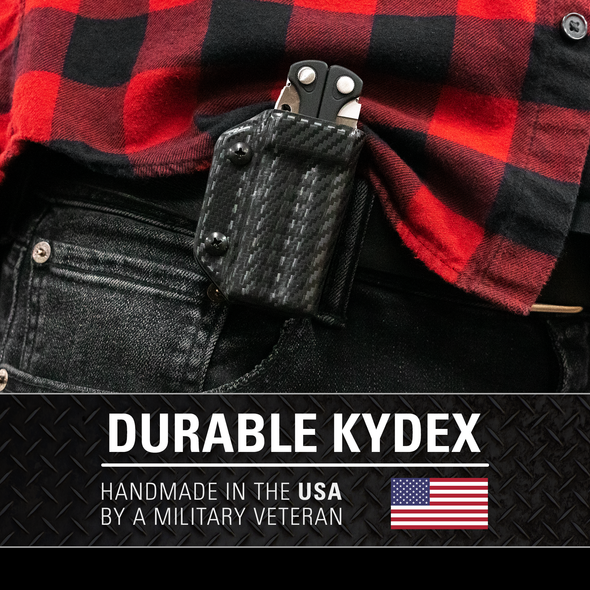 Kydex Sheath for Leatherman Charge / +