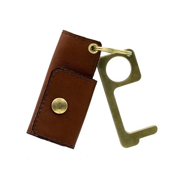 Genuine Leather Hygiene Hand & KeyKuff Bundle