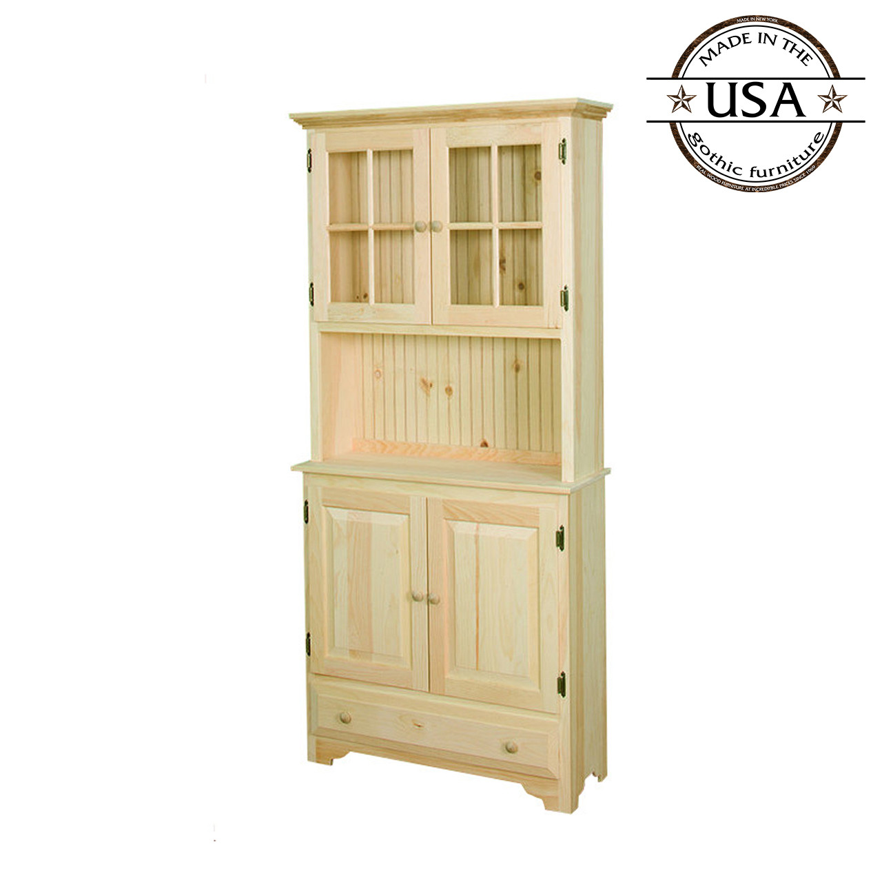 Hunt Board With Hutch Gothic Furniture Gd