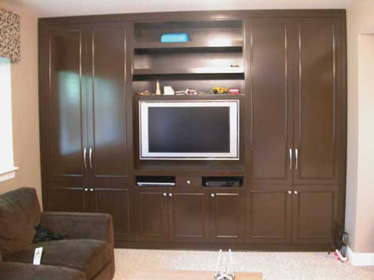Custom Bedroom Entertainment Center With Storage Gothic Furniture