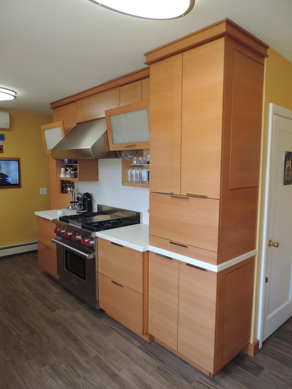 CUSTOM - Built In Modern Kitchen Cabinets | Gothic Furniture ...