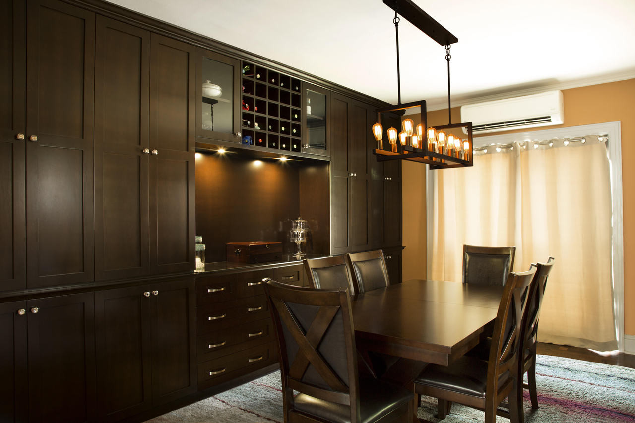 CUSTOM - Built In Dining Room Wall Unit | Gothic Furniture ...