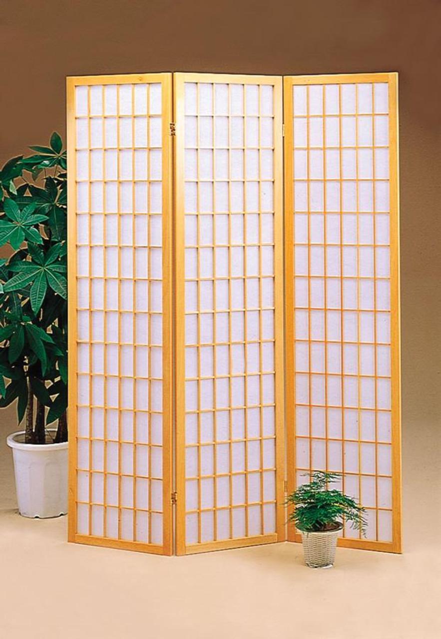 Japanese Natural Room Divider Coaster Fine Furniture