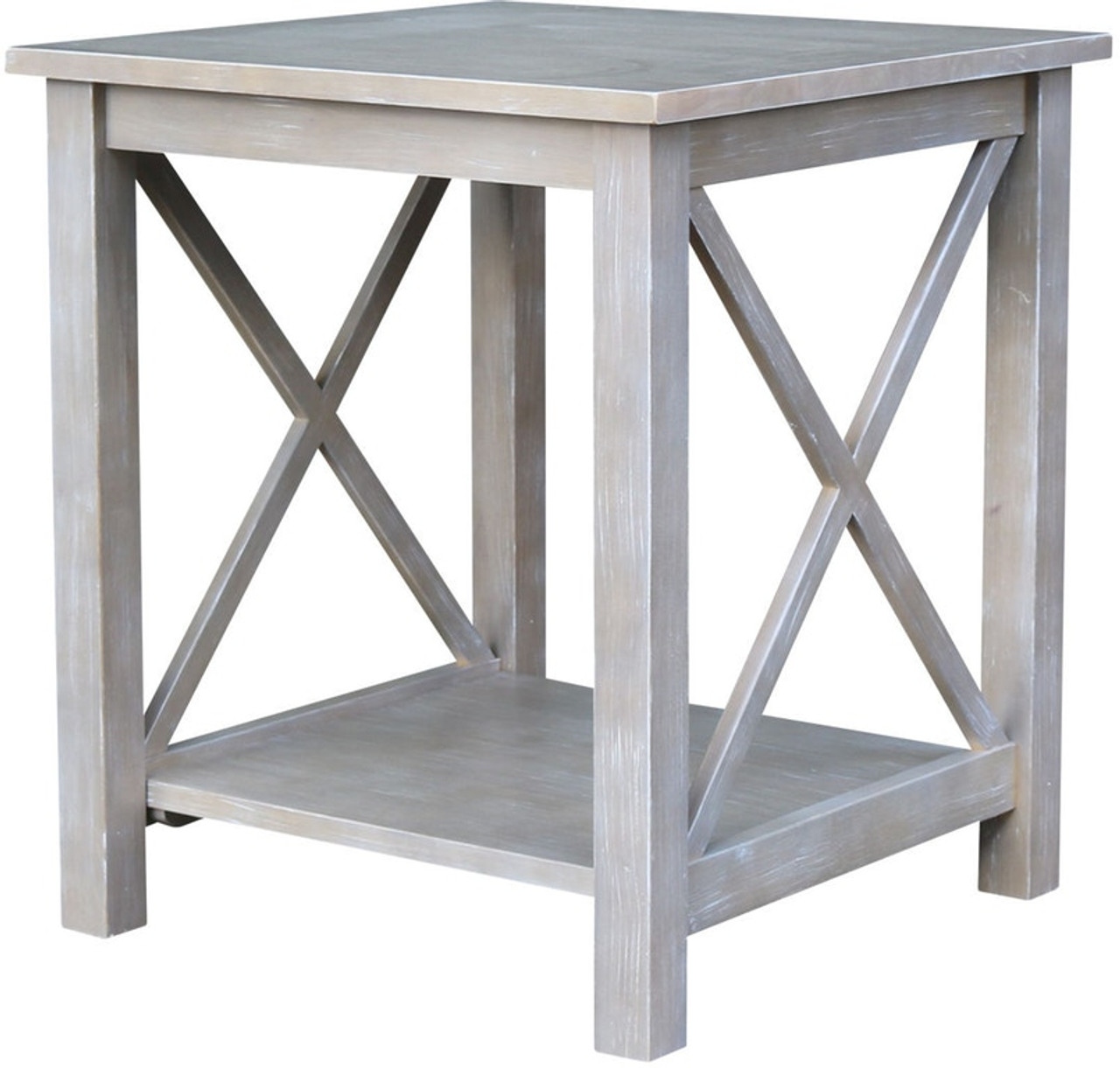 Fabulous Taupe Gray Hampton End Table Pdpeps Interior Chair Design Pdpepsorg