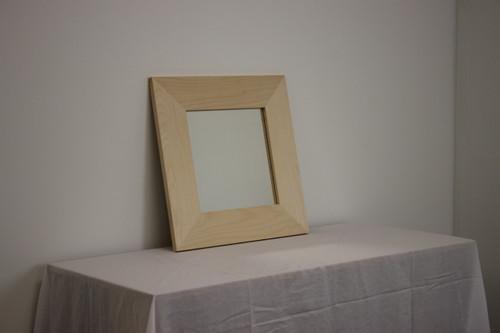 "CLEARANCE - Birch Mirror 20"" x 20"""