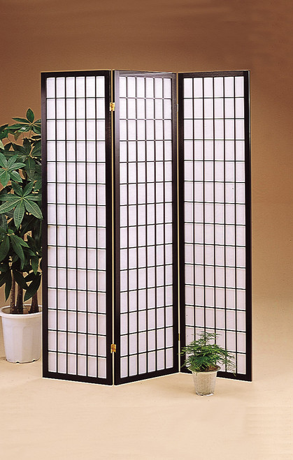 Japanese Black Room Divider