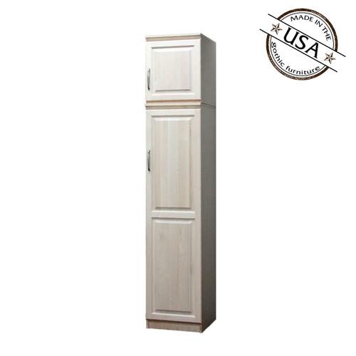 Raised Panel Closet, w/ Storage Top (Opens Left to Right)