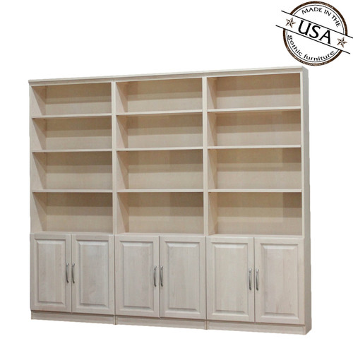 low priced 99539 9944e Solid Wood Bookcases, Birch Bookcases, Unfinished Bookcases