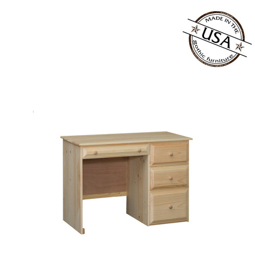 Riverdale Desk With 4 Drawers