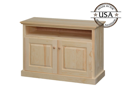 "TV Stand With  Doors and Storage 42"" wide"