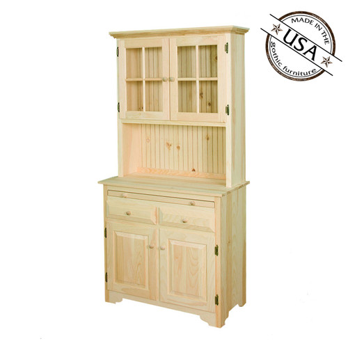 Country Kitchen Server With Hutch