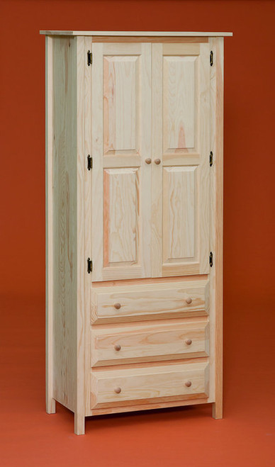 2 Door 3 Drawer Linen Cabinet Gothic Furniture Gd