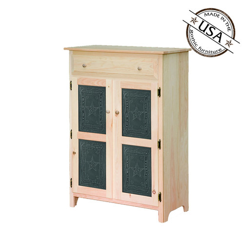 Tin Insert Jelly Cabinet 16¼ x 32¾ x 46¼