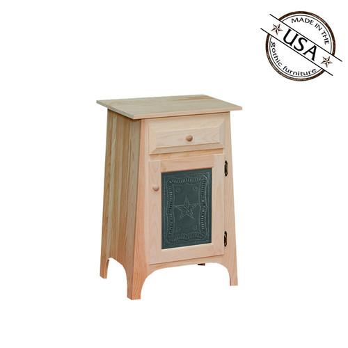 Tin Insert Hall Cabinet 16¼ x 20½ x 32¼