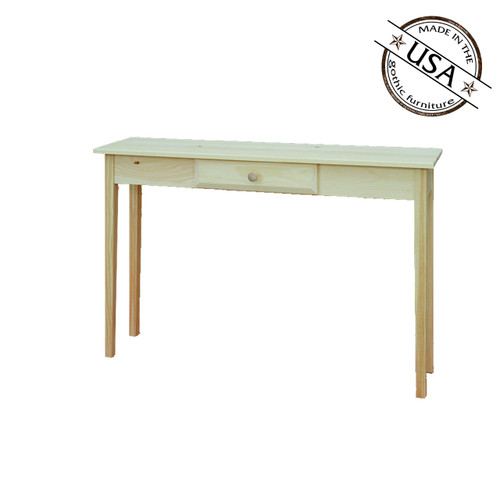 Shaker Sofa Table With 1 Drawer