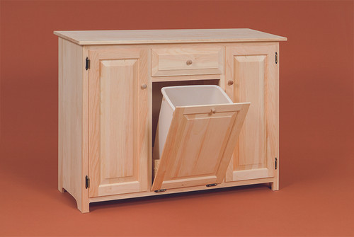 Buffet With Hidden Waste Basket Gothic Furniture Gd
