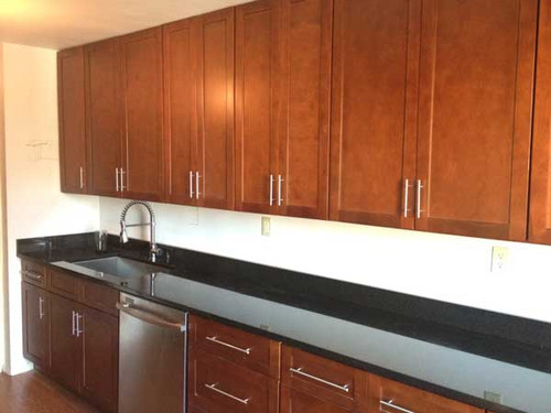 CUSTOM - Long Counter Custom Kitchen