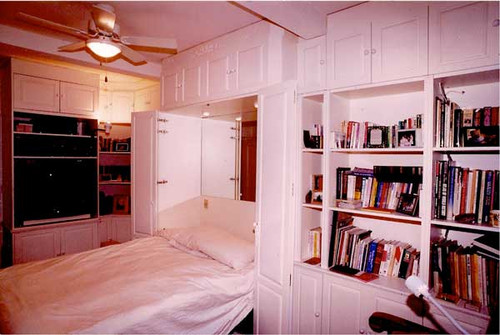 Custom - Murphy Bed Wall Unit In White