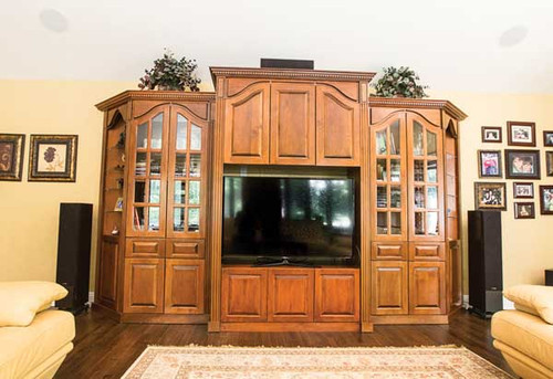 CUSTOM - Elegant Entertainment Center